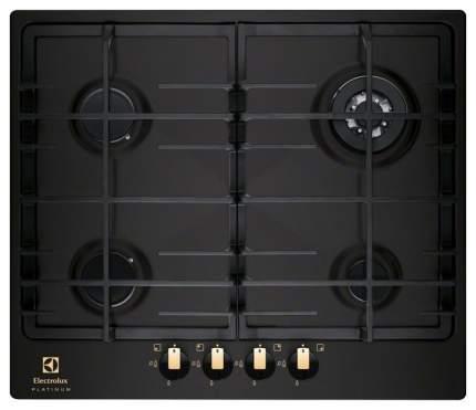 Встраиваемая варочная панель газовая Electrolux EGG96343NR Black