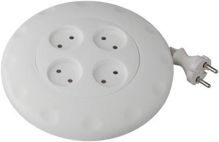 Удлинитель ЭРА Calypso UR-4-5m-W Б0019040 Белый