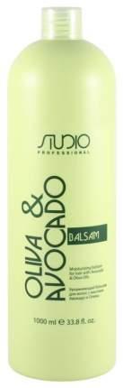 Бальзам для волос Kapous Professional с маслами авокадо и оливы для волос 1000 мл