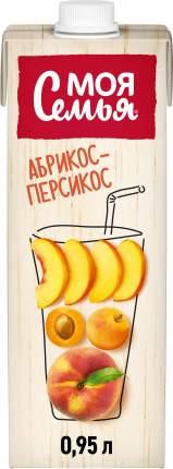 Нектар Моя Семья яблоко-персик-абрикос 1 л