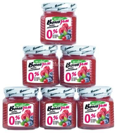 Низкокалорийный джем Bombbar Bombjam 250 г лесная ягода