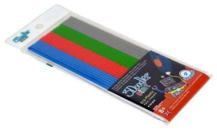 Эко-пластик к 3D ручке 3Doodler «Стартовый набор» 24 шт, 4 цвета