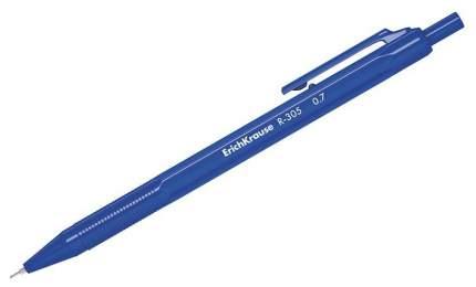 Ручка шариковая ErichKrause R-305 Автоматическая 0,35 мм, Синий