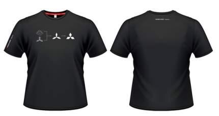 Мужская футболка Mitsubishi RU000009 History Black