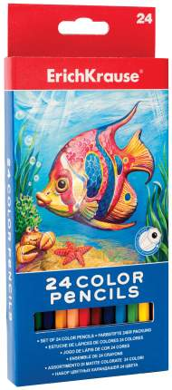 Карандаши цветные ErichKrause 24 Color Pencils
