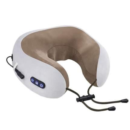 Массажная подушка uTravel gray, роликовый массаж, прогрев, GESS-136 gray
