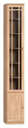 Шкаф книжный Глазов мебель Sherlock 34 GLZ_T0016042 34,5х34,3х239,5, дуб сонома
