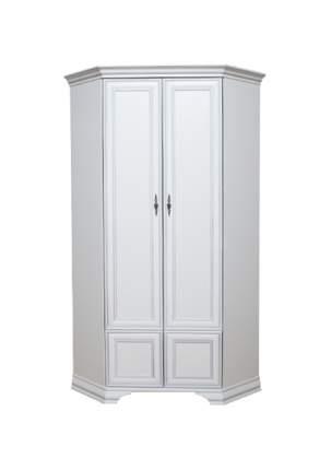 Платяной шкаф BlackRedWhite BRW_00010104 97,5х97,5х216,5, белый