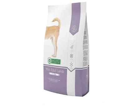Сухой корм для собак Nature's Protection Mini Adult Lamb, для мелких пород, ягненок, 18 кг