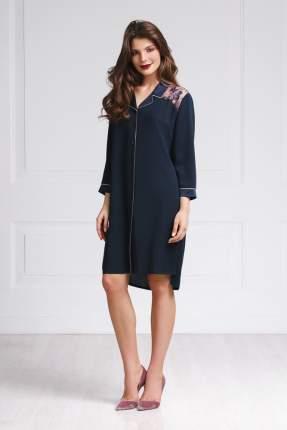 Домашнее платье женское Laete 61404 синее S
