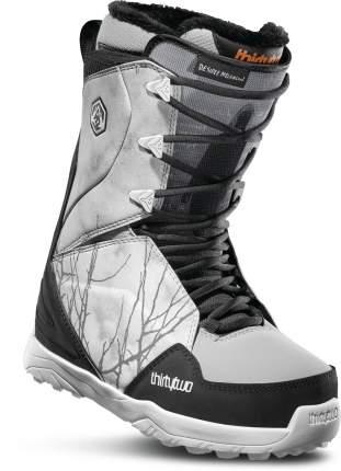 Ботинки для сноуборда ThirtyTwo Lashed W's Melancon 2020, grey/black/white, 24.5