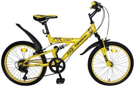 "Велосипед Topgear Boxer 20"" ВН20204 желтый"