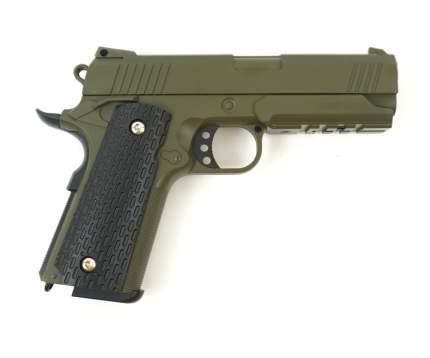 Страйкбольный пружинный пистолет Galaxy  Китай (кал. 6 мм) G.25G (зеленый)