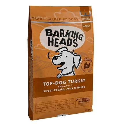 Сухой корм для собак Barking Heads Turkey Delight Grain Free, индейка и батат, 6кг