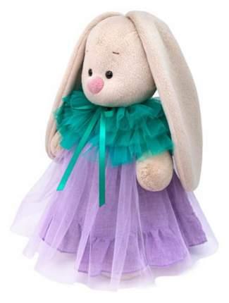 Мягкая игрушка BUDI BASA Зайка Ми в платье с перелиной, 18 см