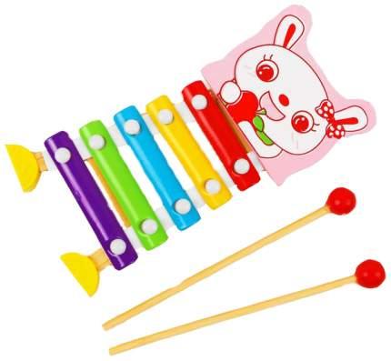 Металлофон игрушечный Sima-Land Зайчик 3567128