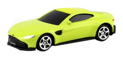 Машина металлическая RMZ City 1:64 Aston Martin Vantage 2018 (цвет желтый)