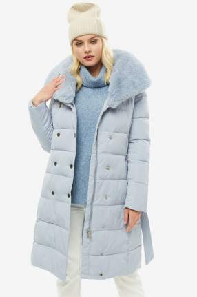 Куртка женская Self Made 050OTW19 голубая 48 RU; 50 RU