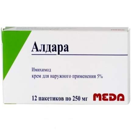 Алдара крем 5 % 250 мг 12 шт.