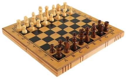 Набор 3в1 Рыжий кот Шахматы, нарды, шашки P00024