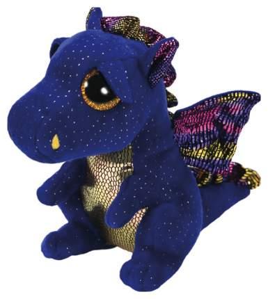 Мягкая игрушка животное TY Дракон Сафир