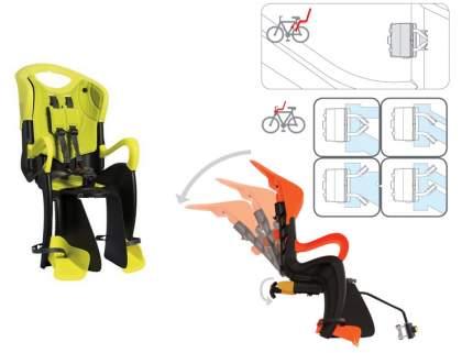 Детское велокресло заднее Bellelli Tiger Relax B-Fix желтое/черное