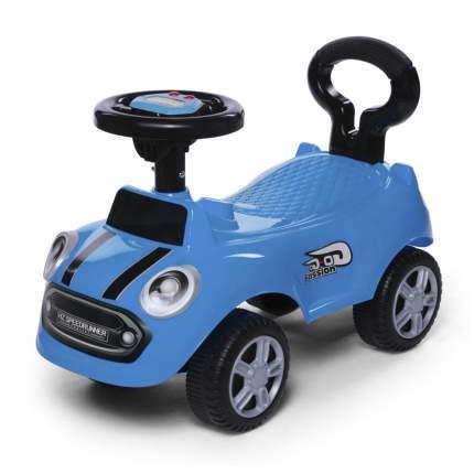 Каталка детская Baby Care Speedrunner музыкальный руль, цвет синий