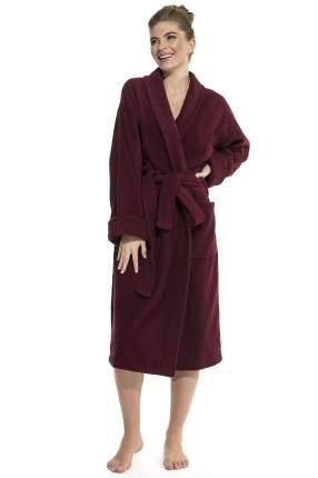 Женский банный халат Vinous Label Еvateks 365, винный, 54-56