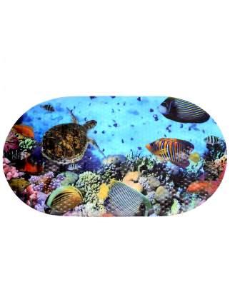 Коврик противоскользящий в ванну BATH PLUS Рыба