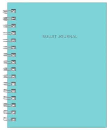 Творческий блокнот Бомбора Bullet Journal Бирюзовый