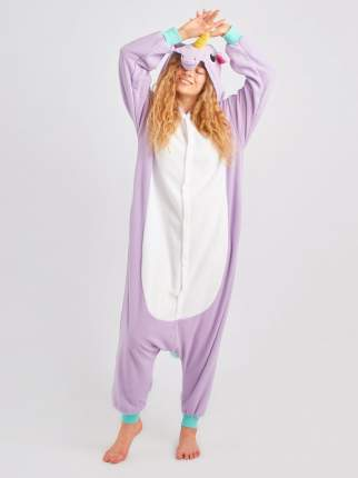 Кигуруми BearWear «Единорог пурпурный» XL