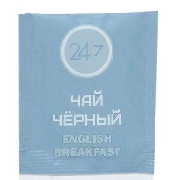 Чай черный 24/7 английский завтрак 500 пакетиков