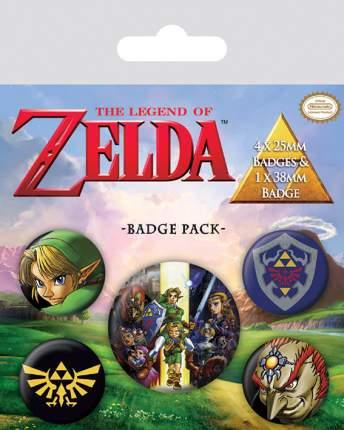 Набор значков Pyramid The Legend Of Zelda (5 шт) BP80530