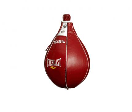 Груша пневматическая скоростная Everlast MX Speed Bag 21*13 красная