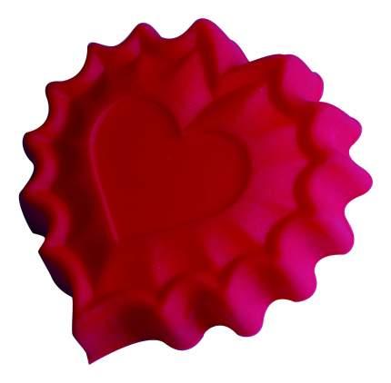 Форма для выпечки 'Валентинка' Silicone 25,5х24х3,5 см