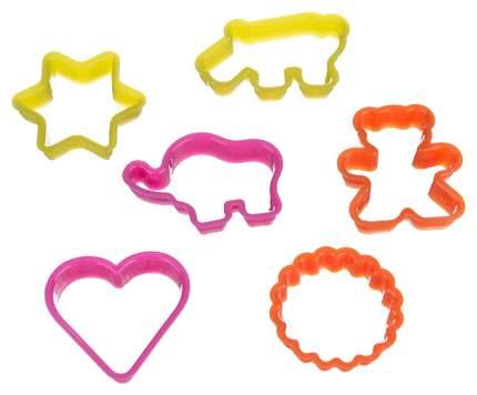 Набор форм Agness 710-152 Розовый, желтый, оранжевый