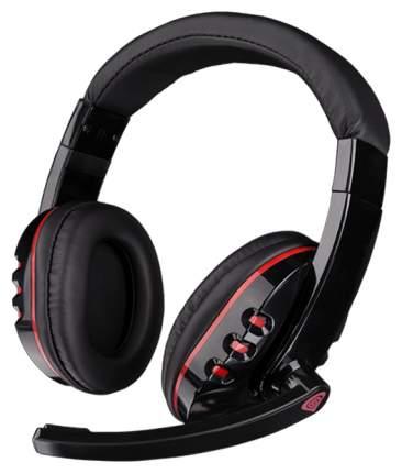 Игровые наушники Genesis H12 Red/Black
