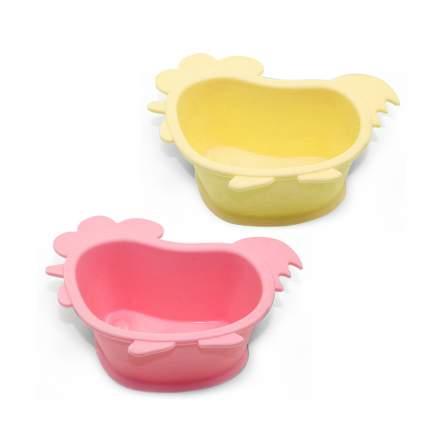 Глубокая тарелка Fissman Цыпленок 14х12х5 см 9611