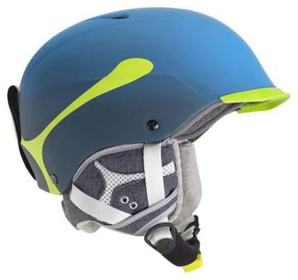 Горнолыжный шлем мужской Cebe Contest Visor Pro 2017, голубой, S/M