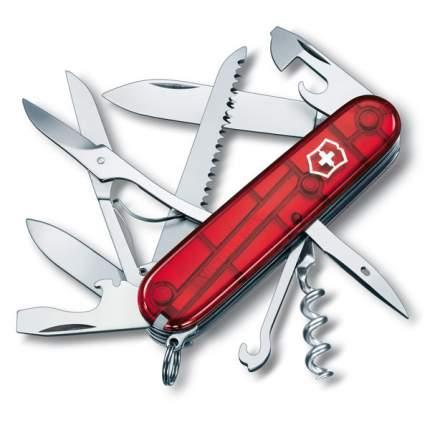 Мультитул Victorinox Huntsman 1.3713.T 91 мм красный, 15 функций