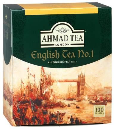 Чай черный Ahmad Tea english №1 100 пакетиков