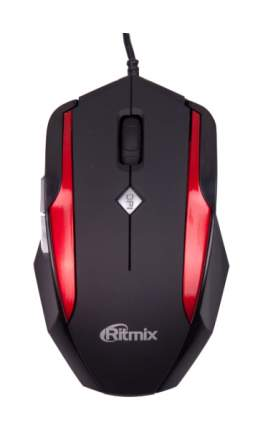 Проводная мышка Ritmix ROM-307 Red/Black