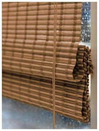 Римская штора Эскар Pneuma 160х120 цвет коричневый