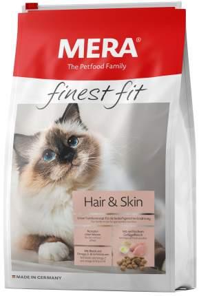 Сухой корм для кошек MERA Finest Fit Hair & Skin, для кожи и шерсти, курица, 1,5кг