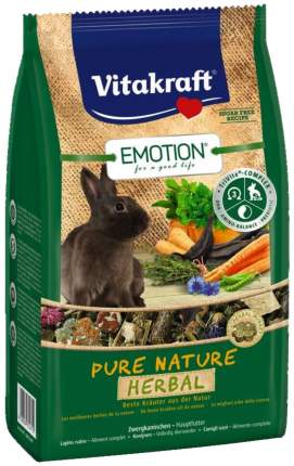 Корм для кроликов Vitakraft Emotion Pure Nature Herbal 0.6 кг 1 шт