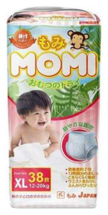 Подгузники-трусики детские MOMI размер XL, 12-20 кг, 38 шт