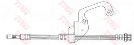 Шланг тормозной TRW/Lucas PHD628