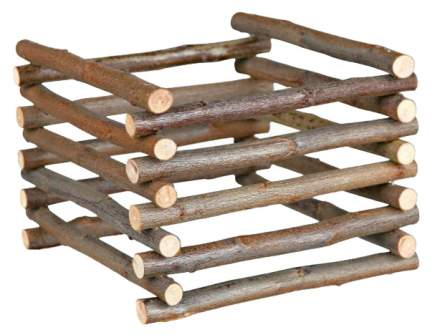 Сенница для грызунов TRIXIE, напольный, коричневый 15х11х15 см