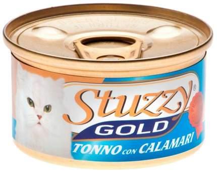 Консервы для кошек Stuzzy Gold тунец с кальмарами 85г 24шт