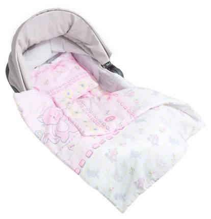 Комплект в коляску Акварель розовый Сонный Гномик